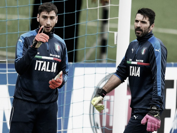 Dirigente da Juventus nega interesse em Donnarumma, mas fala em 'sucessor digno' de Buffon