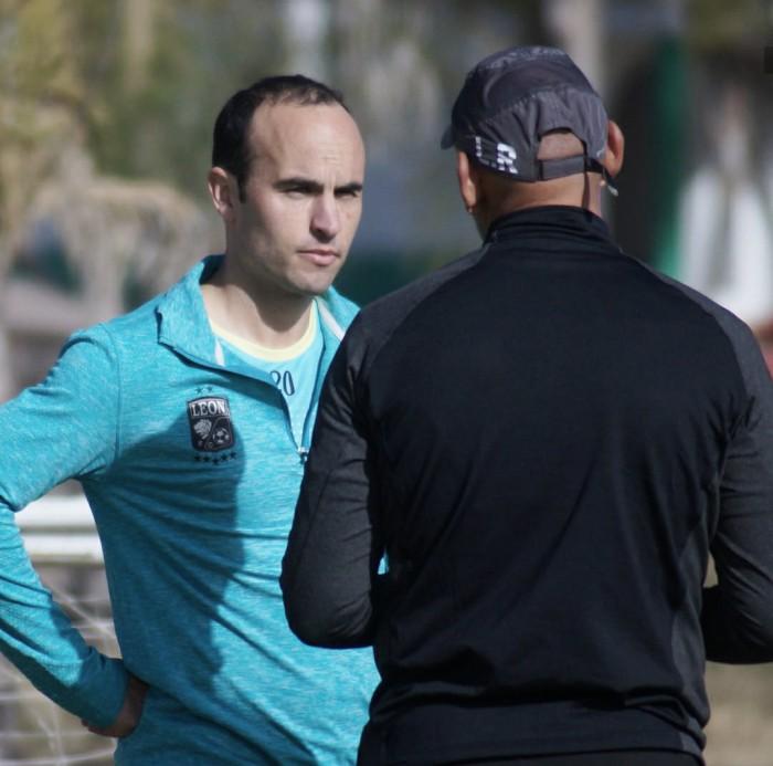 Reporta Donovan a los trabajos con León