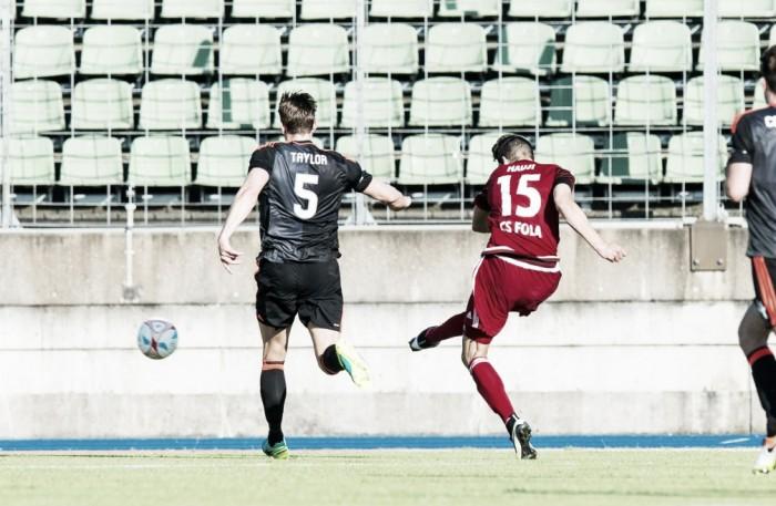 Aberdeen garante classificação na UEL mesmo com derrota para Fola Esch