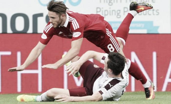 Em duelo truncado, Aberdeen e Hearts empatam sem gols pela Premiership