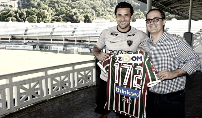 "Presidente do Fluminense, Pedro Abad admite contato por Fred: ""Estamos analisando"""