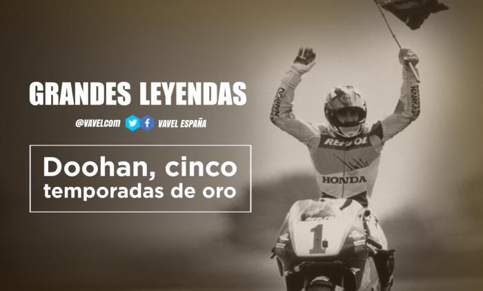 Grandes leyendas: Mick Doohan, cinco temporadas de oro