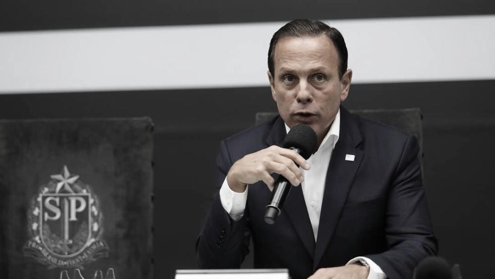 Governador de São Paulo, João Doria decreta quarenta de 15 dias no estado