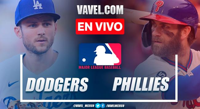 Resumen y carrera: Los Ángeles Dodgers 1-2 Philadelphia Phillies en MLB 2021