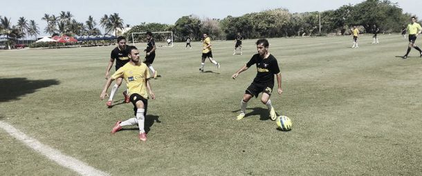 Dorados inició con victoria sus partidos de preparación
