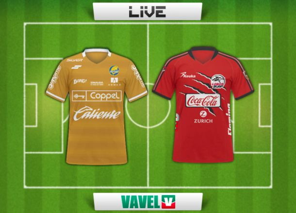 Resultado Dorados - Lobos BUAP en Copa MX 2015 (4-2)