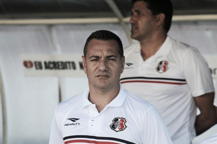 Doriva não confirma, mas Santa Cruz deverá estrear com time titular na Sul-Americana