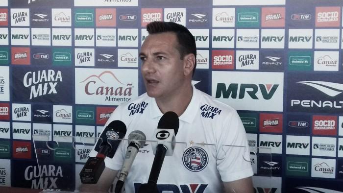 """Mesmo com vitória magra, Doriva aprova atuação do Bahia: """"Dominamos"""""""