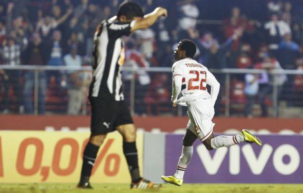 Dorlan Pabón anotó gol en Brasil