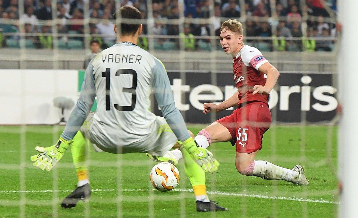 Europa League - L'Arsenal vince ancora: Qarabaq battuto per 3-0