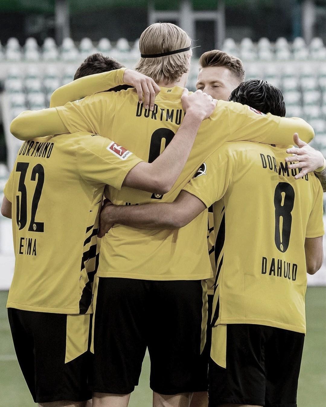 Dortmund venció a Wolfsburgo en un duelo clave