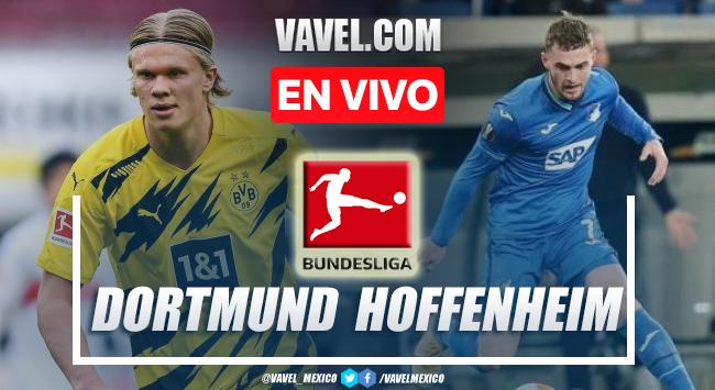 Goles y resumen del Borussia Dortmund 3-2 Hoffenheim en Bundesliga 2021