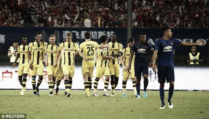 Manchester United 1-4 Borussia Dortmund: Devils defeated by brilliant Borussia