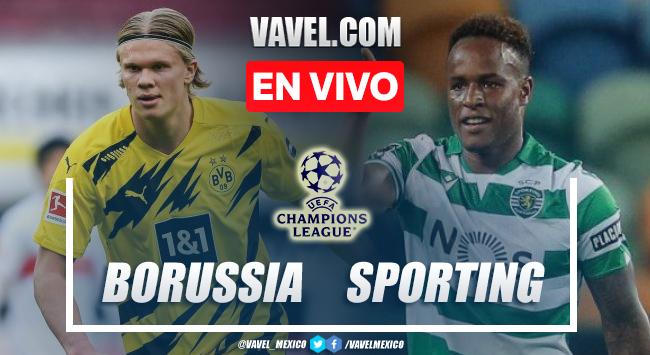 Goles y resumen del Borussia Dortmund 1-0 Sporting CF en UEFA Champions League 2021