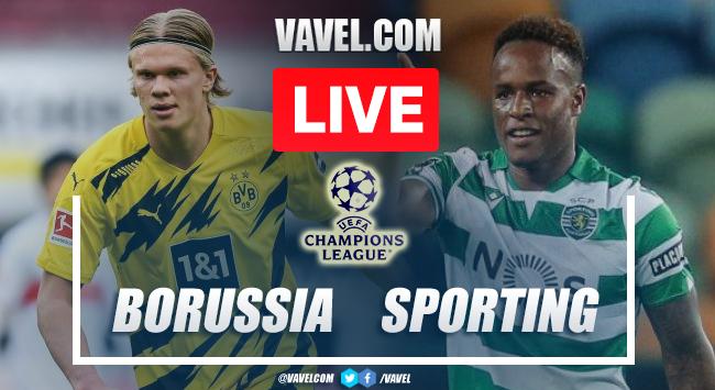 Gol e melhores momentos de Borussia Dortmund x Sporting (1-0)