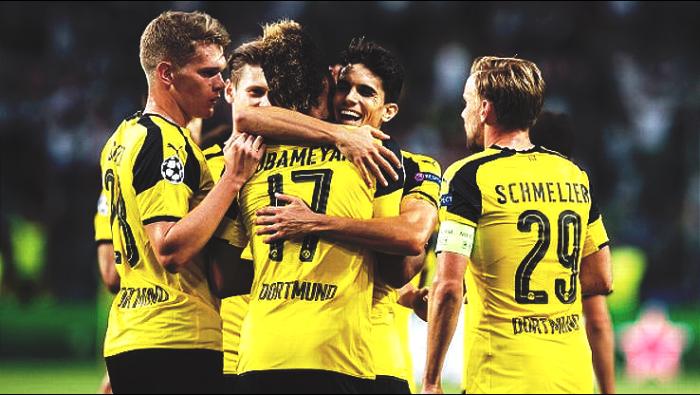 Champions League - Goleada Dortmund, 8-4 al Legia