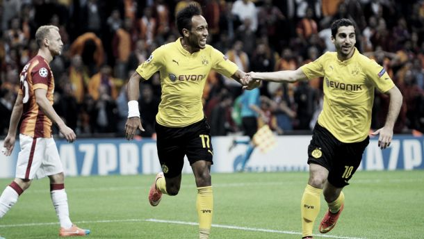 Galatasary 0-4 Borussia Dortmund: Aubameyang at the double as BVB maintain perfect start