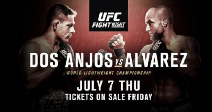 """UFC """"Dos Anjos x Alvarez"""" recebe novos confrontos envolvendo brasileiros"""