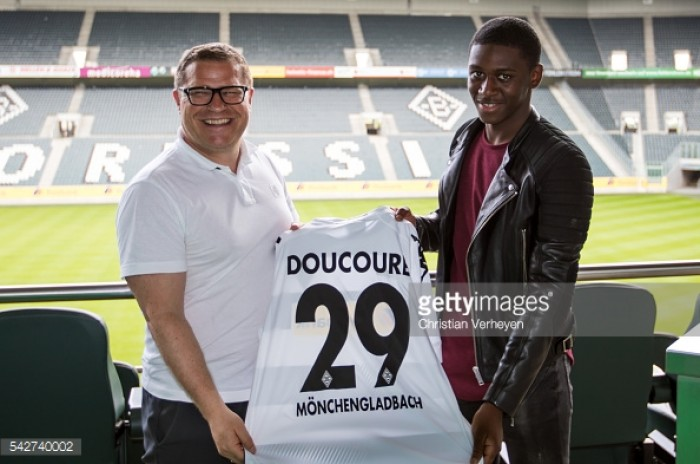 Borussia Monchengladbach's Mamadou Doucouré suffers injury setback