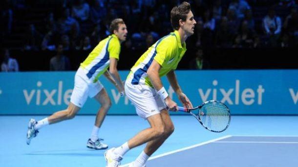 Masters: La paire Benneteau-Vasselin chute aux portes de la finale
