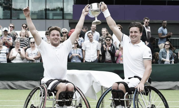 Wimbledon 2016: Reid & Hewitt take Men's Wheelchair Doubles title