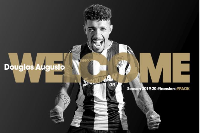 Corinthians confirma venda do volante Douglas ao PAOK