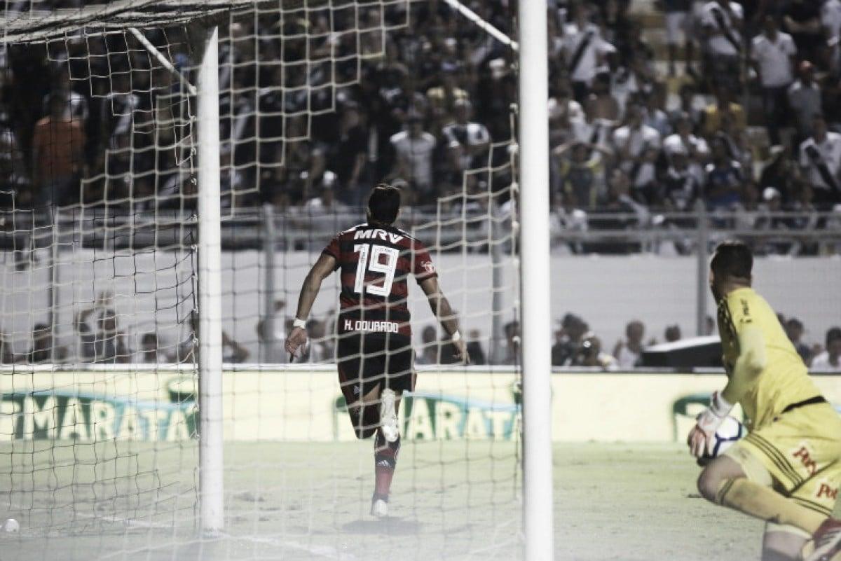 """Dourado garante vitória do Fla na Copa do Brasil e comemora: """"É sempre bom fazer gols"""""""