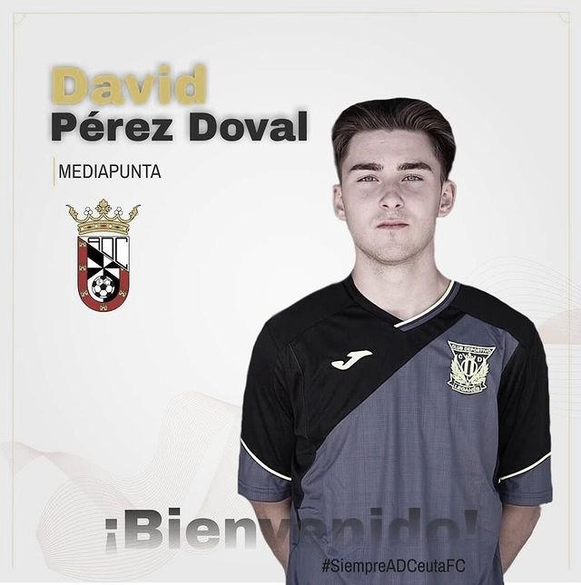 """David Pérez """"Doval"""" es nuevo futbolista del AD Ceuta"""