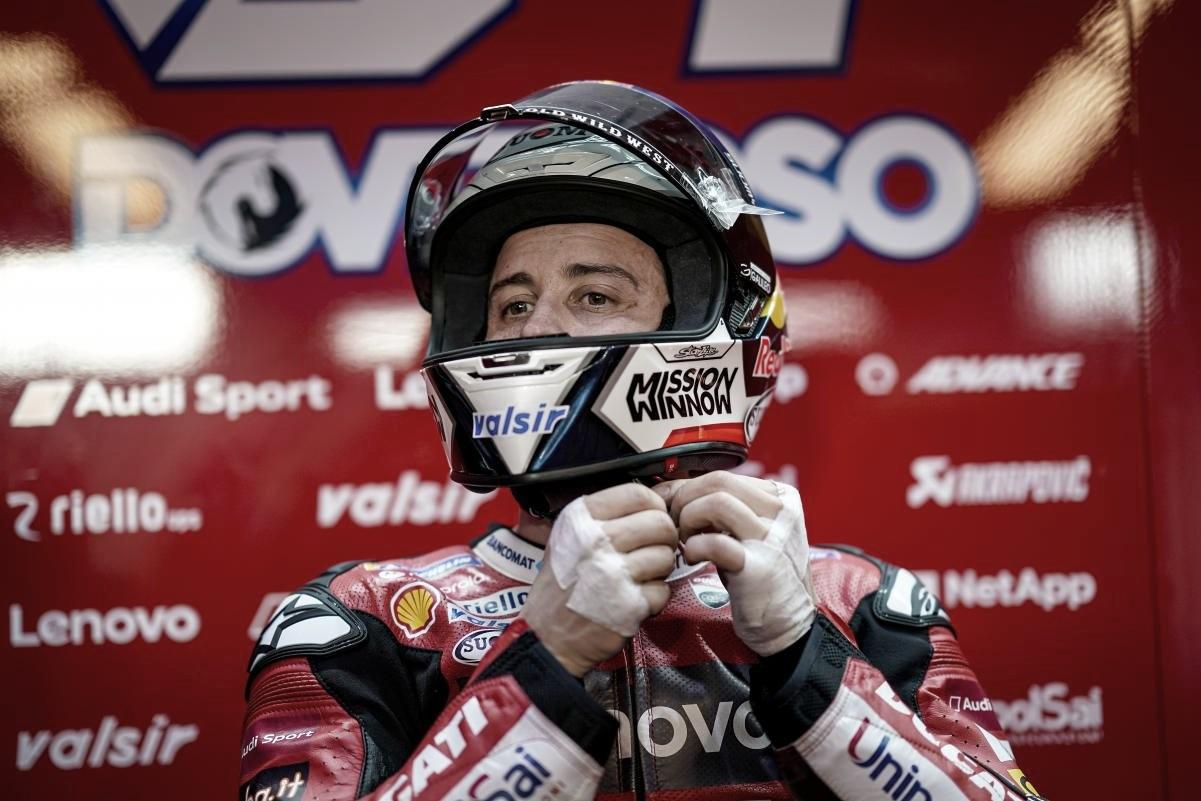 Andrea Dovizioso, operado con éxito de su clavícula izquierda
