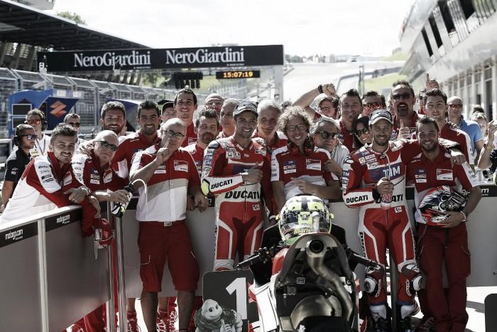 """Andrea Dovizioso: """"Es un día muy importante para Ducati"""""""
