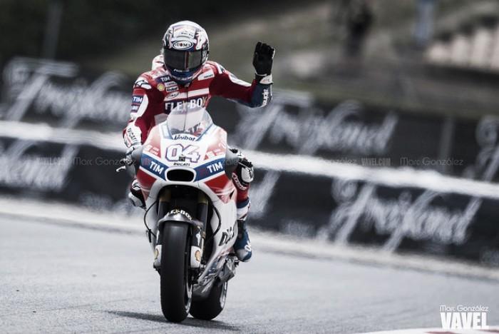 """Andrea Dovizioso sobre Zarco: """"Este año aún irá mejor porque tendrá más experiencia"""""""