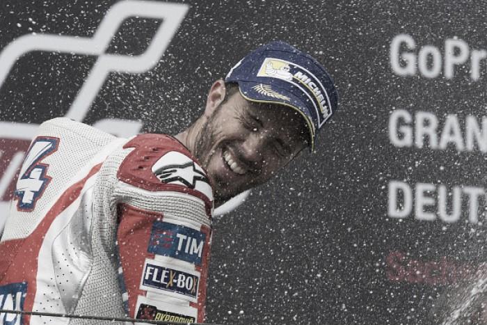 Long-awaited podium for Dovizioso at Sachsenring