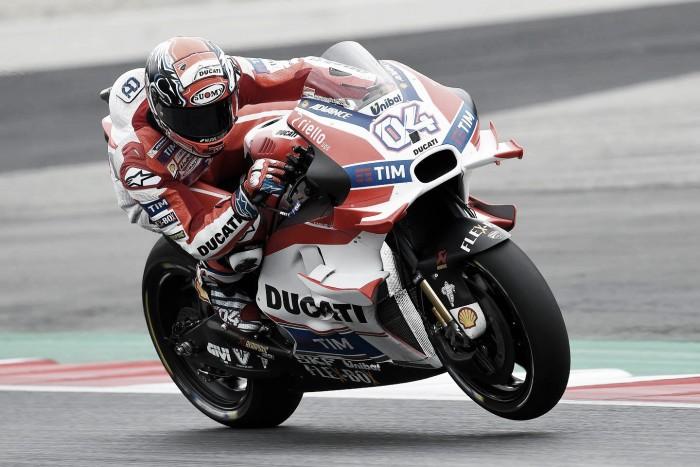 Dovizioso disappointed despite double victory for Ducati