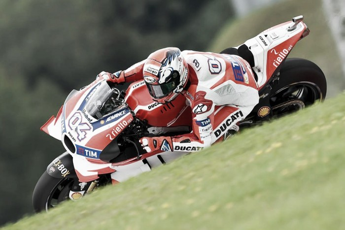 Dovizioso has to settle with third on the grid for Austrian GP