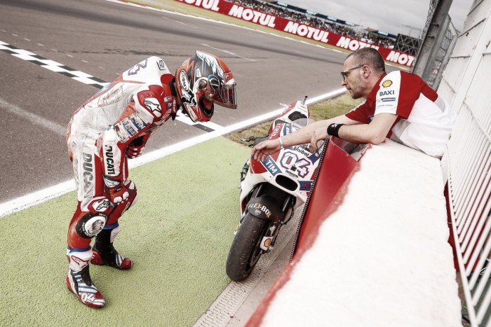Ducati team speak about both crashing out of penultimate corner of ArgentinaGP