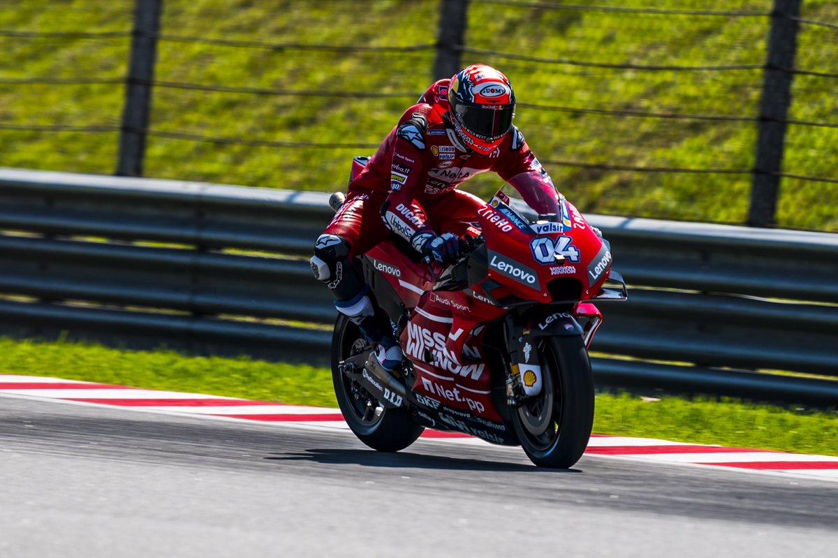 MotoGP Gp Argentina- Dovizioso il più veloce delle seconde libere