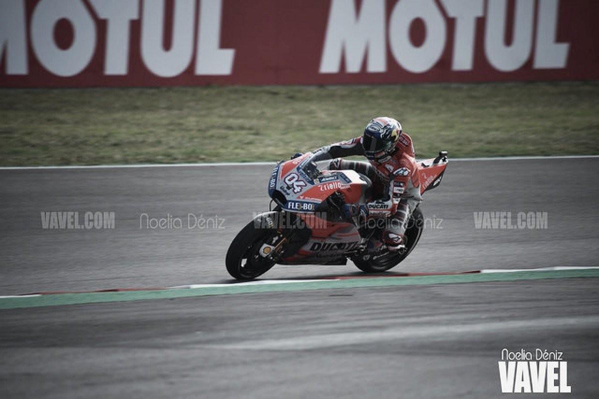 MotoGP - Dovizioso trionfa in Repubblica Ceca davanti a Lorenzo e Marquez