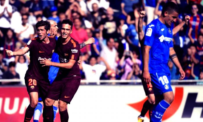 Liga - Il Barcellona vince in rimonta: battuto 1-2 il Getafe
