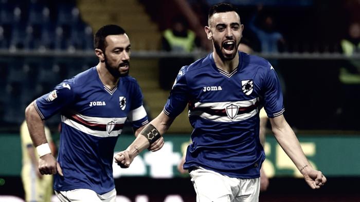 Serie A, tutto facile per la Sampdoria: battuto 3-1 il Pescara