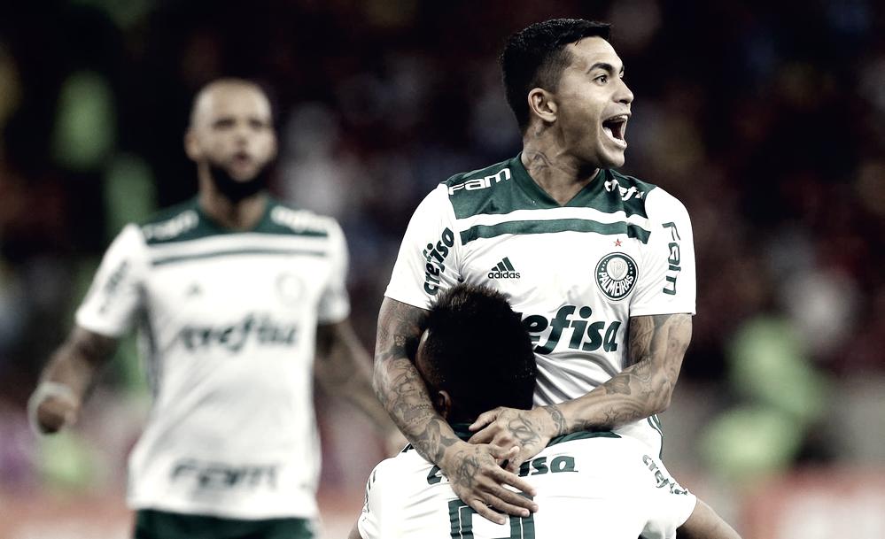"""Dudu valoriza empate e destaca vantagem de pontos sobre Flamengo: """"É difícil jogar aqui, o time deles é muito bom"""""""