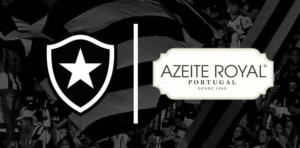 Botafogo anuncia Azeite Royal como patrocinador até o fim da temporada