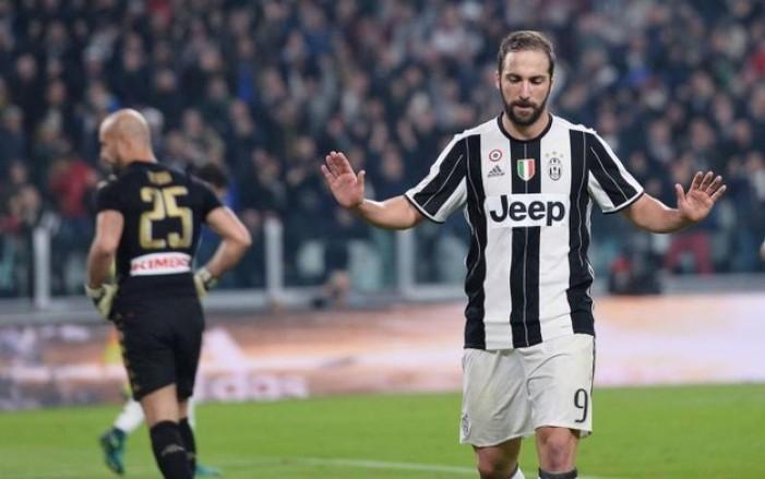 Juventus, i numeri dell'appannamento di Higuaìn