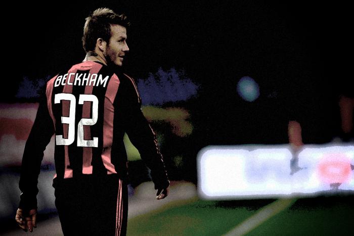 Beckham sbarca in Italia: