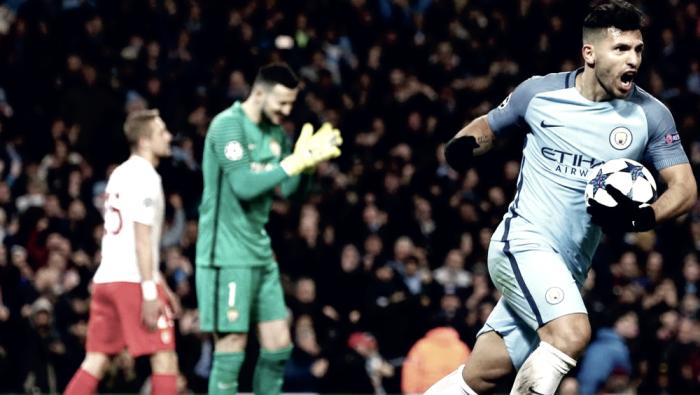 Champions League - Fantascienza all'Ethiad: Manchester City batte Monaco 5-3!