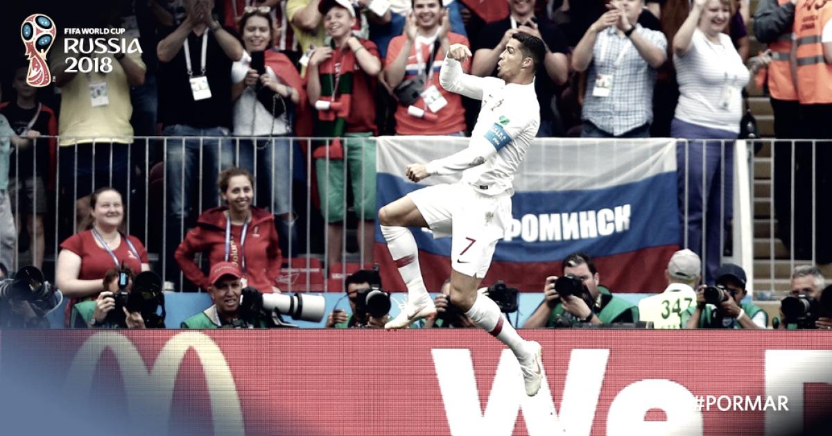 Russia 2018 - Ronaldo stende il Marocco: il Portogallo vince 1-0