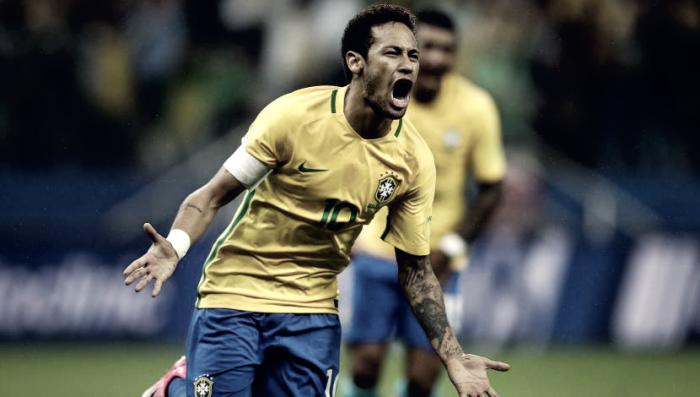 Qualificazioni Russia 2018 - Il Brasile vola al Mondiale: battuto il Paraguay 3-0