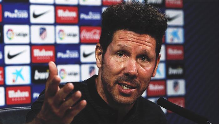 """Atletico Madrid, parla Simeone: """"Affrontiamo un nuovo Barcellona. Messi? Il migliore al mondo"""""""