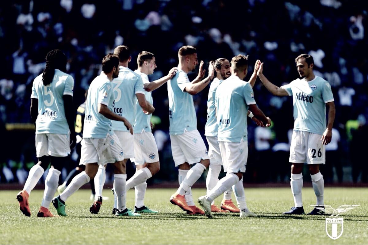 Risultato finale Lazio - Atalanta in diretta, LIVE Serie A 2017/18 1-1 (Barrow, Caicedo)