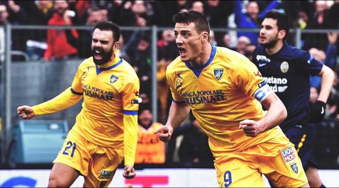 Serie B - Ciofani mette le ali al Frosinone: battuto 1-0 il Verona
