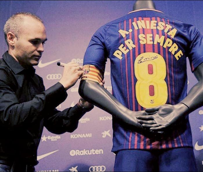 """Barcellona, parla Iniesta: """"Il mio sogno si è avverato, per sempre grato al club"""""""